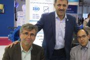 بازدید مدیران آب و فاضلاب استان اردبیل از غرفه شرکت آبرسان طلوع بهاررود
