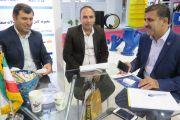 بازدید مسئولین آب و فاضلاب استان لرستان از غرفه شرکت آبرسان طلوع بهاررود
