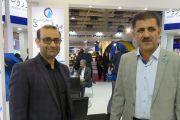 بازدید مسئولین آب و فاضلاب تهرانسر از غرفه شرکت آبرسان طلوع بهاررود